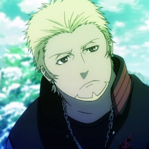 Kamamoto Rikio - He's constantly by Yata Misaki's side. Unlike Misaki, he's more serious. He tries to be the voice of reason for Misaki and attempts to calm the other's rage. Sadly, it doesn't always work.