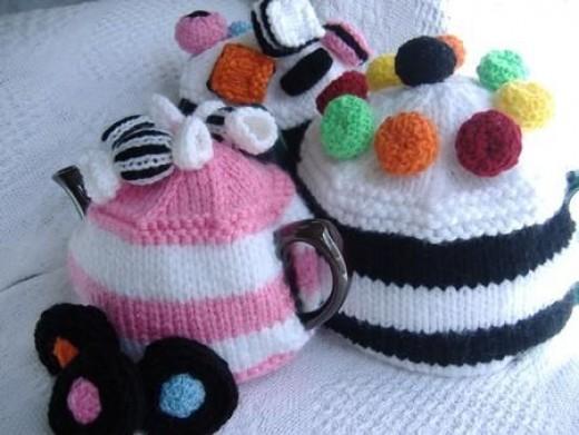 Sweet Treats Tea Cosy Knitting Patterns