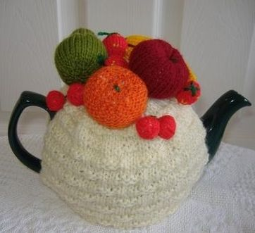Fruit Tea Cosy Knitting Patterns