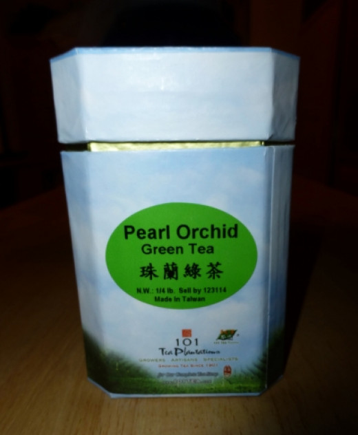 What I bought - Loose green tea leaves from 101 Tea Plantation Shop