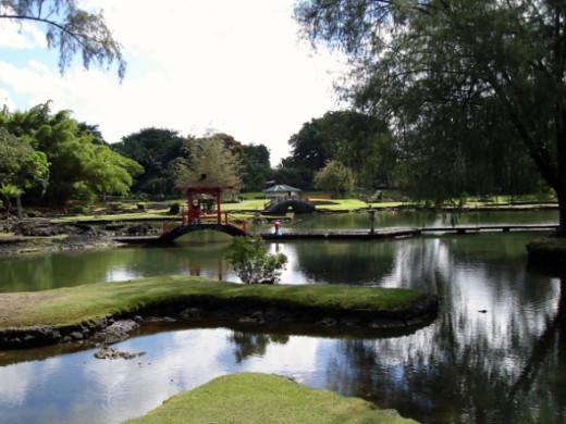 Hawaii-Hilo-Queen Liiuokalani Gardens