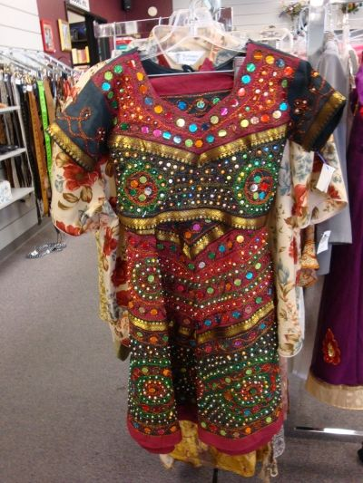 Ethnic dresses for young girls