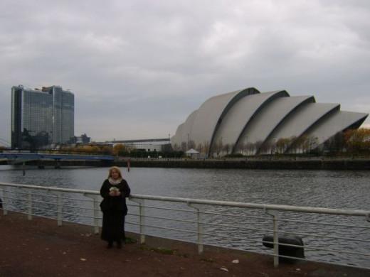 The Five Dollars Visit the Glasgow Auditorium (The Armadillo)