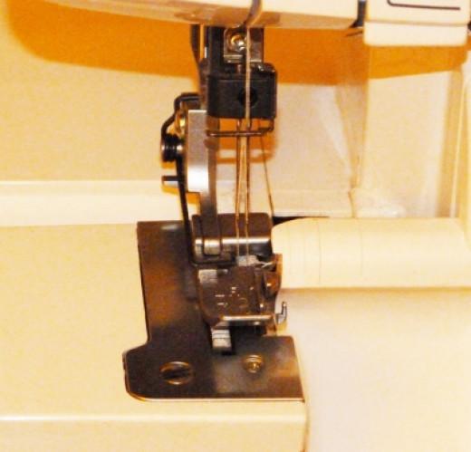 Dual threaded needle of my babylock machine