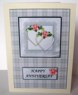 Everlasting love wedding card