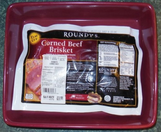 Buy corned beef at your favorite store