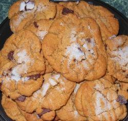 Peanut Butter Chocolate Chunk Gluten Free Cookies