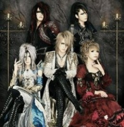 Visual kei band Versailles. In case you were wondering, all the members are guys.