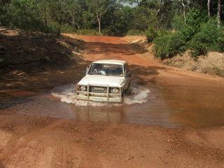 A 1985 Toyota Landcruiser will take you anywhere