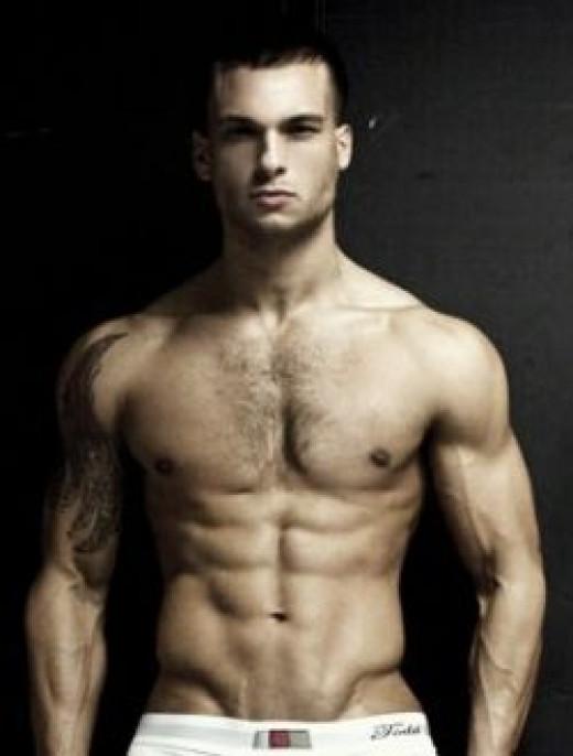 male model cardio workouts