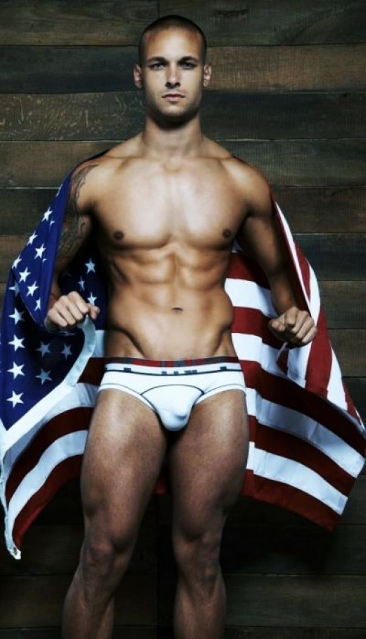 Model Chuck Ryan Strogish-Male Model Cardio Workouts-Working For C-In2 Underwear NYC