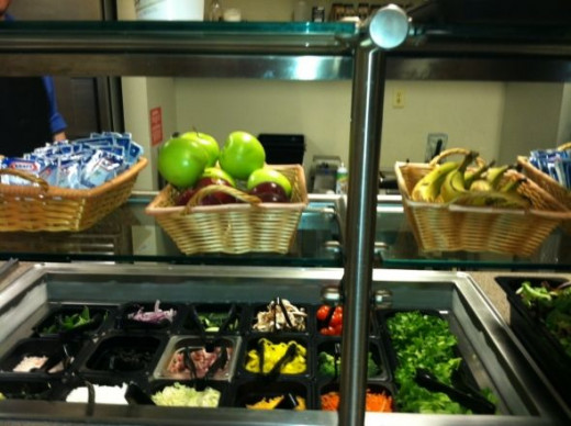 The Salad Bar is a great option