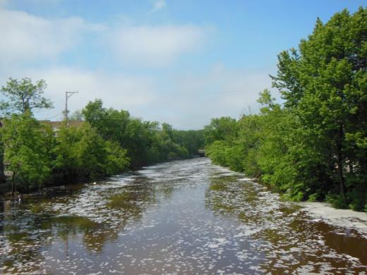 The River that runs through town
