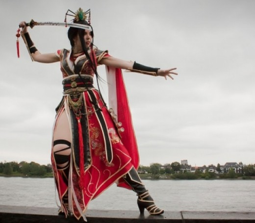 Svetlana from Germany cosplays a Wizard!