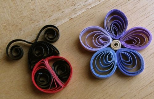 Free quilling patterns and designs for Simple paper quilling designs