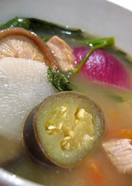 Pork in Sour Broth (Sinigang na Baboy) (Photo courtesy by tednmiki from Flickr)