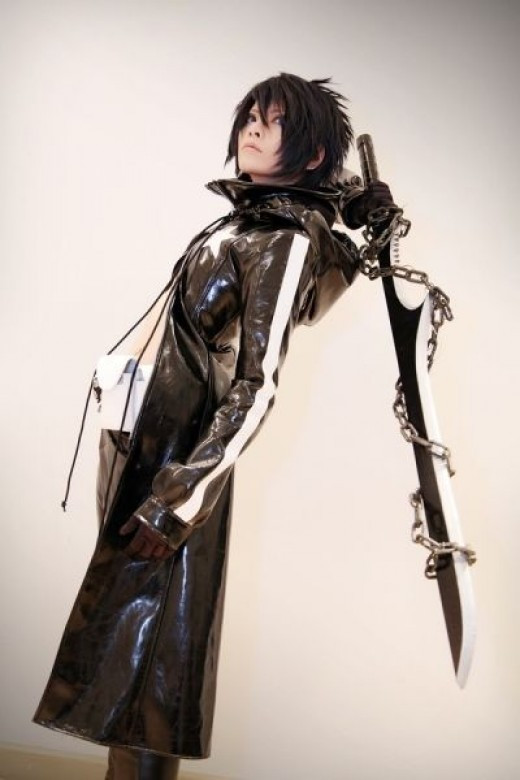 Vocaloi- Black Rock Shooter Kaito