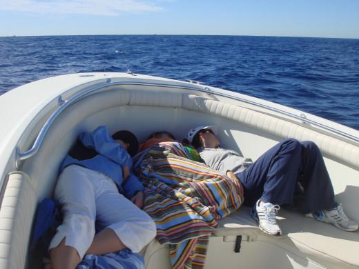 Fishing nap