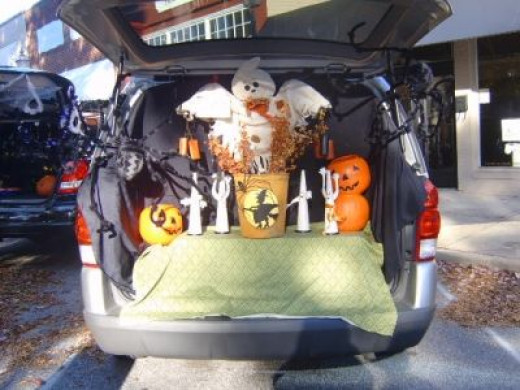 Trunk or Treating in Pendleton SC
