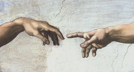 Finger of God - Michelangelo
