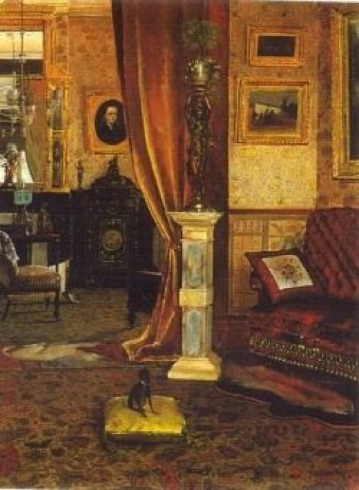 Victorian Interior from 1886