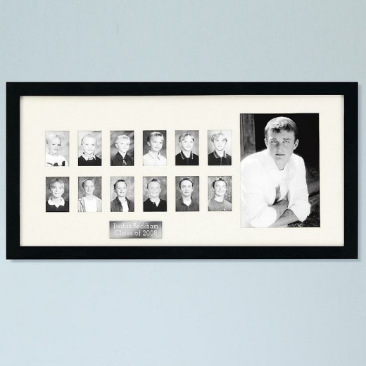 Personalized School Year Picture Frame - Grades K-12