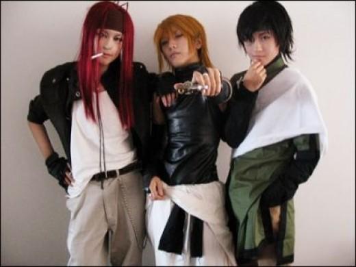 The three 'Adults'