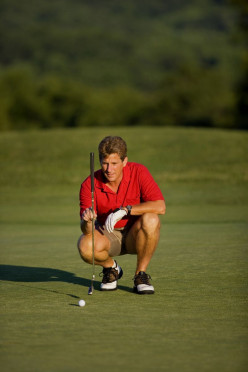 Golf Putting Lines - the secrets of breaking putts