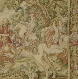 Detail from an Aubusson Tapestry