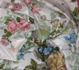 Classic English Chintz. Chintz is a historic fabric that has been popular in the U.S. since colonial times. It is naturally dust-resistant and available in a wide range of patterns and colors.