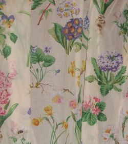 Printed voile fabric