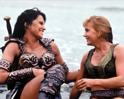Xena and Gabrielle's friendship survives against all odds.