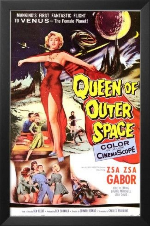 Queen of Outer Space from Venus Movie Poster