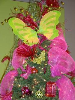 Fairy Butterfly Themed Tree