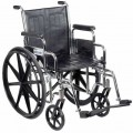 This is an example of a conventional wheelchair.