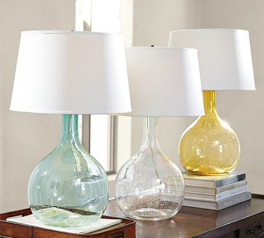 If you don't choose floor or table lamps, try some pendant lights for a fresh look.