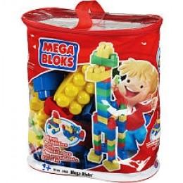 80 count mega bloks kit in easy tote.