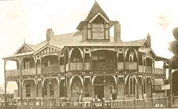 Blue Mountain Hotel c.1915