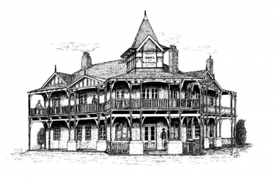 Sketch - Original Blue Mountain Hotel