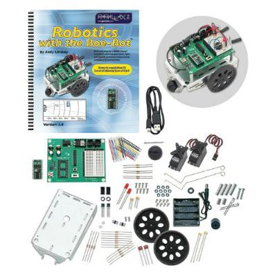 Parallax Programmable Boe-Bot Robot Kit