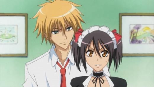 Usui with Misaki