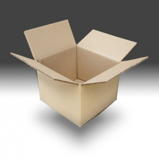 Just so you know, an empty box is NOT my idea of a funny joke!