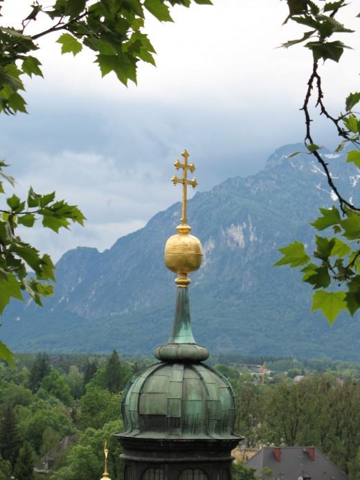 Steeple in Salzburg