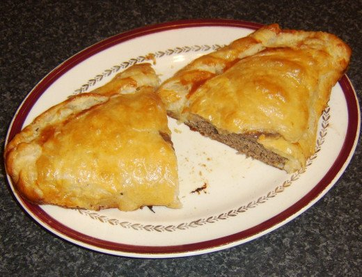 Pasties are great for taking on a trip in a food flask, though larger ones may need to be firstly cut in to portions and individually foil wrapped