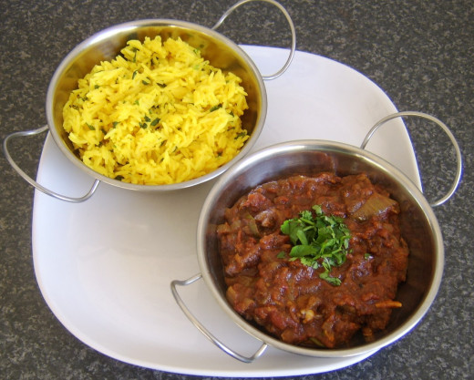 A curry and rice is not the obvious choice for a food flask but simply spoon in the rice followed by the curry and later enjoy at your leisure!