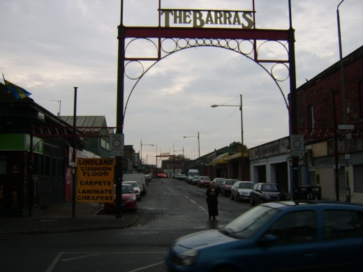The Five Dollars at Glasgow's Barras Market