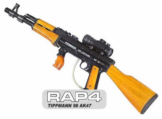 Tippmann 98 AK47 paintball marker