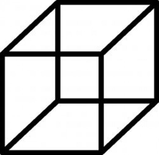 Necker Cubes may reveal our ability to focus attention.