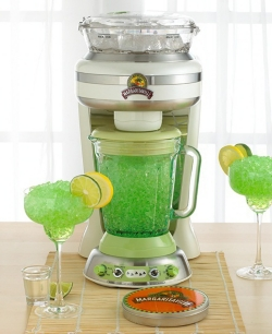 Place tequila in blender......