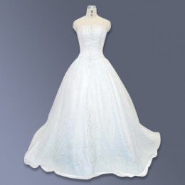 Have wedding dress, will travel